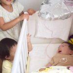 生後2ヶ月で新生児微笑から社会的微笑へ?そして喃語も喋るように!